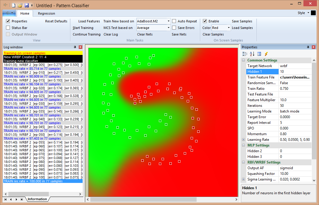 کتابخانه شناسایی الگو با شبکه عصبی