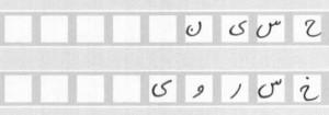 نمونه ای از فرمهای ورود اطلاعات